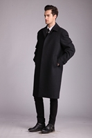 breathable soft 100% wool cashmere fashion mens fitted blazer coat for men