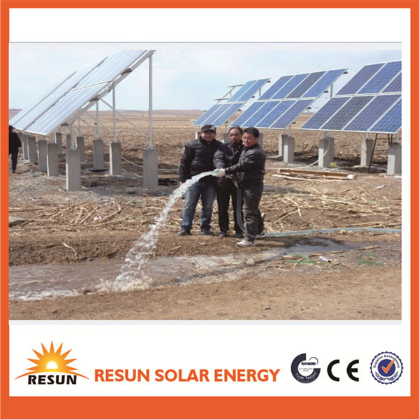 China factory supply wholesale price solar deep well water pump