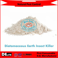 DElite Organic 300G/Bottle Diatomite Earth Powder Pesticides, Mites, Ants, Slugs,Bugs Killer
