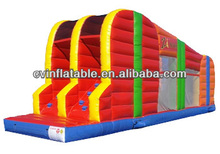 FUNNY INFLATALE ZIPLINE/INFLATABLE OBSTACLE