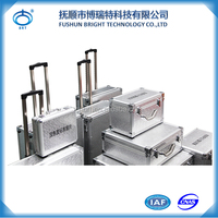 BJX Made In China Aluminum Trolley Tool Case /Suitcase/ Luggage
