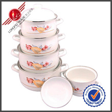 China Manufacturer Enamel Steel Italian Cookware