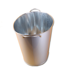 Wholesale high quality large metal unique ice bucket with stand