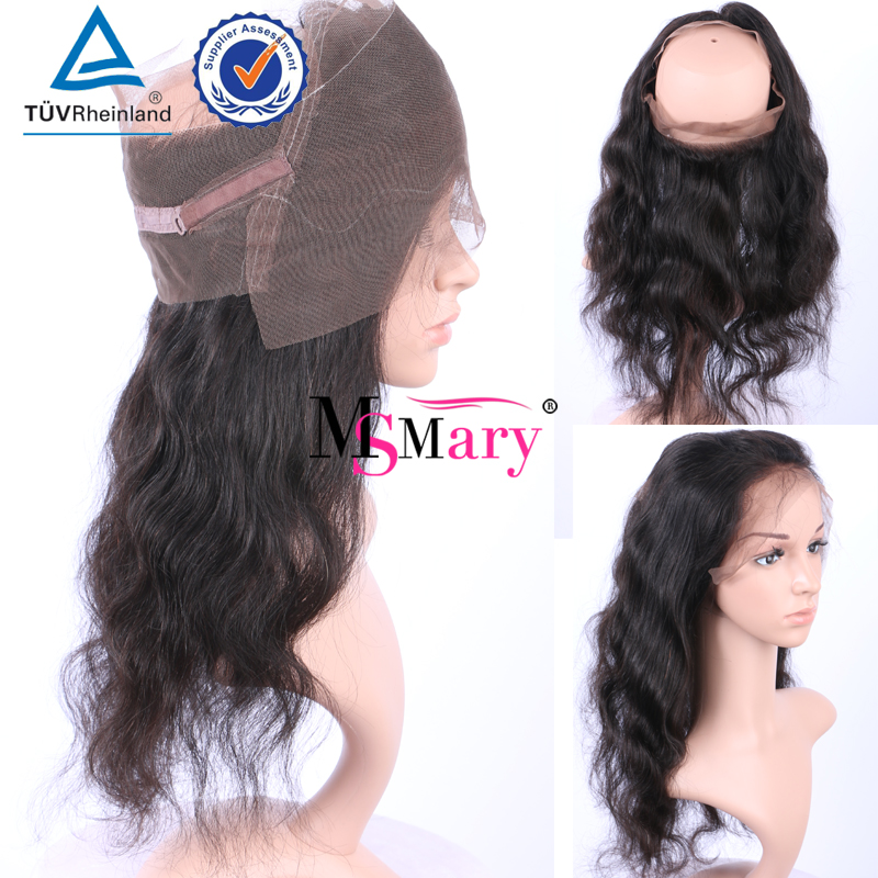 Factory Direct Supply Original 8A Grade Unprocessed Virgin Brazilian 360 Lace Frontal With Bundles