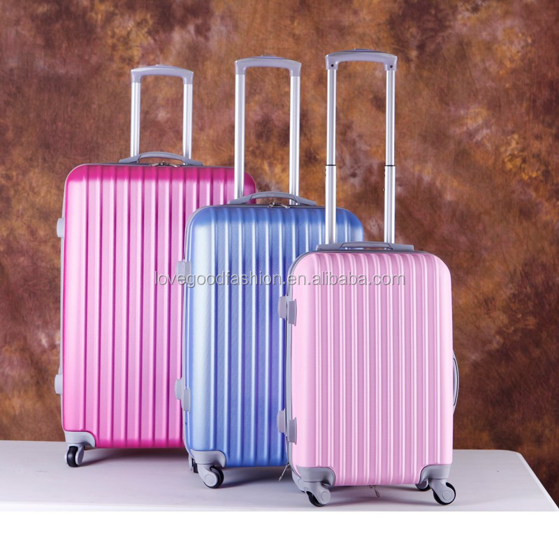 2016 Hardside ABS Trolley Womens Luggage Lightest Carry On Luggage