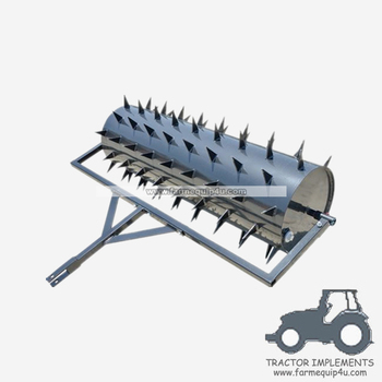 ATV Grass Roller with spike tine