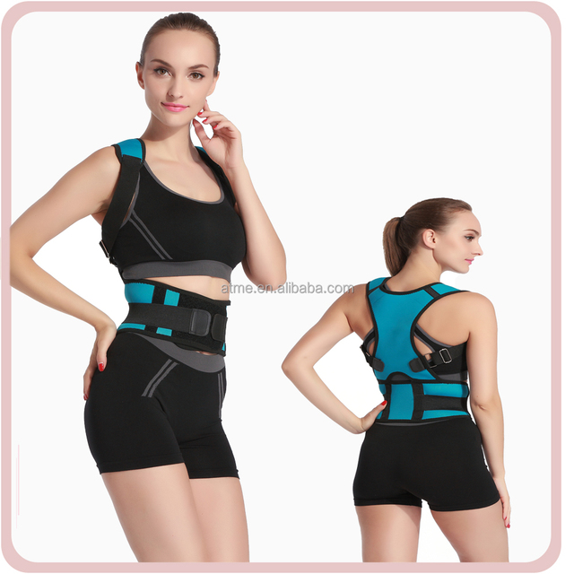 High quality Women Adjustable Back Support Belt Posture Corrector Brace posture corrective brace for Health Care