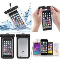 wholesale price custom logo pvc waterproof cell phone bag for iphone 7 7 plus
