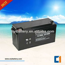 VRLA SLA MF Deep Cycle Solar Battery 12V 150ah