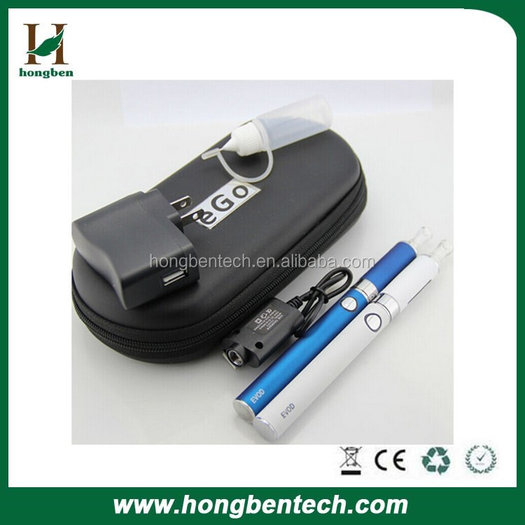 2014 EVOD e cigarette MT3 atomizer& EVOD battery (650mah,900mah,1100mah) blister box packing MT3 clearomizers