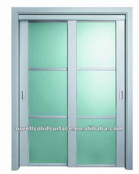 Frameless exterior sliding glass door with blinds msly02 buy sliding glass door with blinds for Exterior frameless glass doors