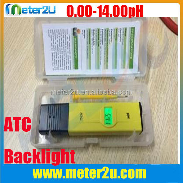 High accuracy ph meter buffer solution of ph meter testing