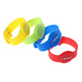 Factory Supply RFID Adjustable Cool Wristband Silicone Bracelets