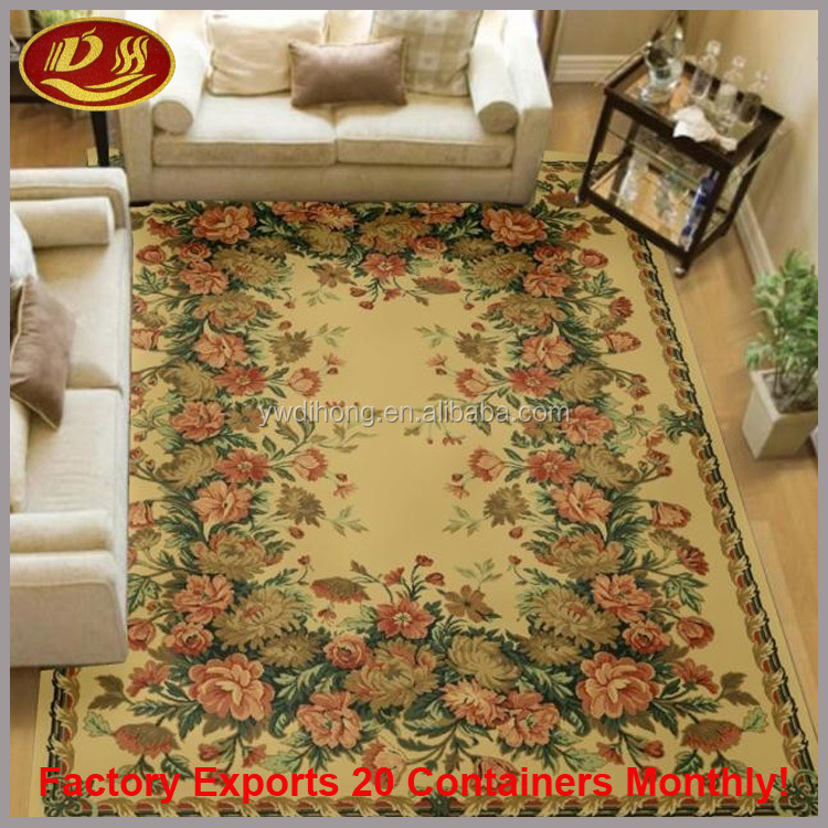 yiwu Luxury Hotel Hand Tufted Wool Carpet Custom Carpet With Good Carpet Price