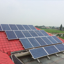 home solar power tile roof mounting system for panel installation