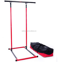 Wellshow Sport Home Mult Gym Physio Portable Parallel Bars Pull Up Mate Station For Indoor Or Outdoor Dip Station