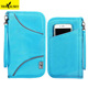 13599A01Fabric waterproof RFID custom passport holder wallet