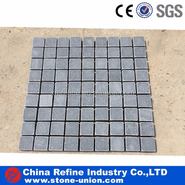 Tumbled G654 Granite paving stone
