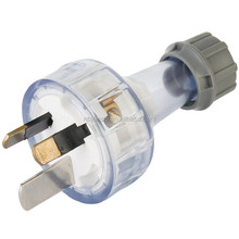 SAA 15AMP 250Volt 3 Pin Flat Plug Top Rewireable Plug Electrical