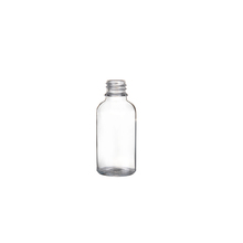 Custom color spray clear designer glass essential oil bottle for wholesale