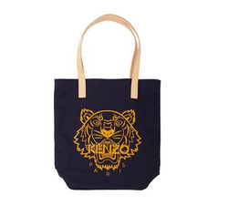 Black Canvas Fabric Bag With Custom Printing Personalized Tote Bags For Lady