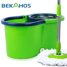 Bekahos 2014 best selling 360 degree easy rotating magic clean wonder mop with bucket