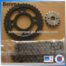 Sprocket Wheel CG125 38T/15T, 428/100L Chain Line, Sprocket Chain Set for Motor