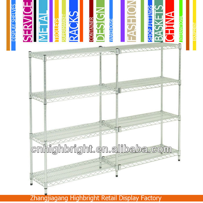 wire mesh display stand