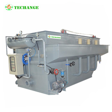 Domestic Waste Water Treatment dissolved air floatation machinery