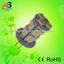 low power led lamp 12v/24v dc led light bulb 2.5w 5050-13smd led 80cri dimmable led spotlight 360 degree led corn lamp