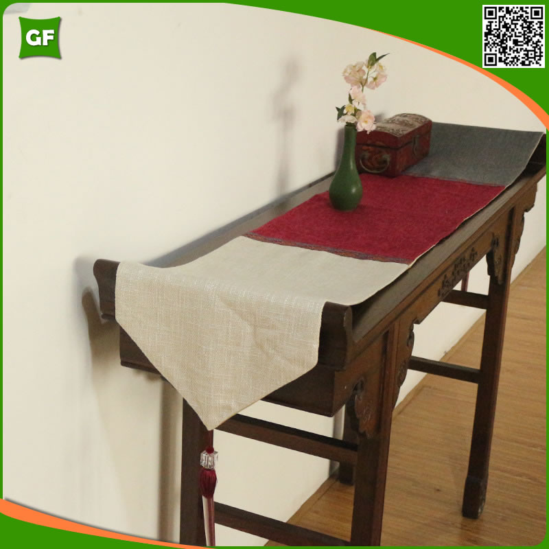 Vintage Stitching Fashion Polyester Table Runner Home Party Decorative Dinner Table Runners