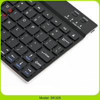 Aluminum Shell Wireless Bluetooth Keyboard For iOS/Android/Windows Slim Keyboard