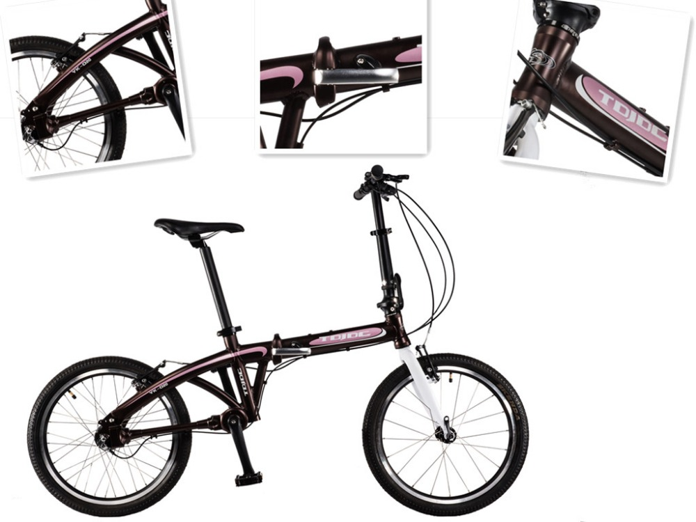 lightweight aluminum T4 T6 processing folding bike 3 speed new model city bicycle for sports