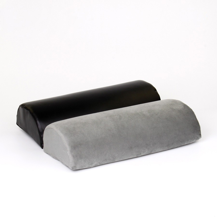 Memory Foam Foot Rest Cushion, Half Cylinder Design Foot Cushion, Helps Distribute Weight Evenly Orthopedic Leg Pillow