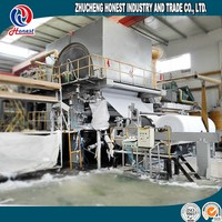 400M/Min High Speed Paper Machinery Waste Paper Recycling Line, Kitchen Paper Towel Making Machine