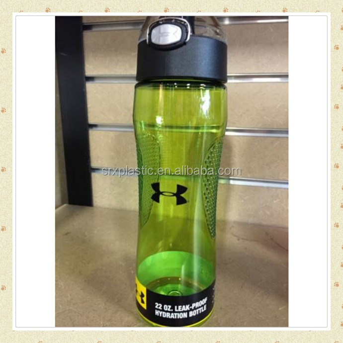 eco-friendly plastic durable water cup, customized your own brand sport bottle, custom make plastic water bottle use in sport