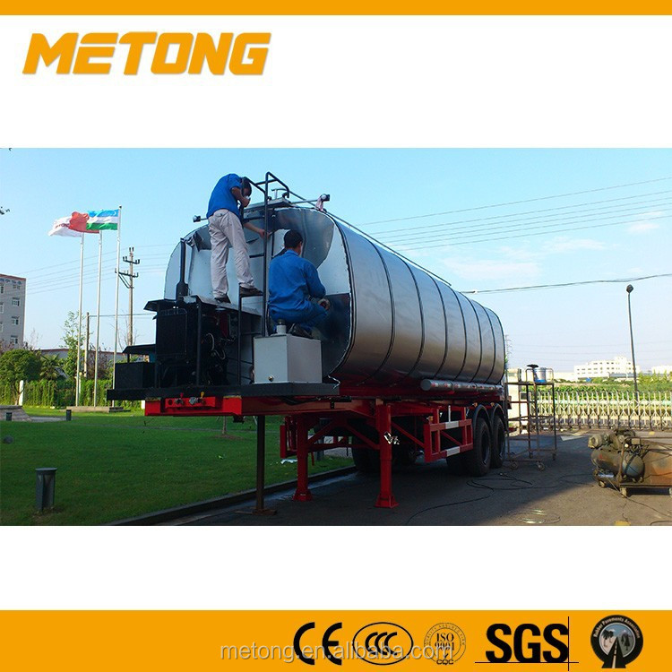 Bitumne transport truck trailer,car transport semi truck trailer,bitumen tanker