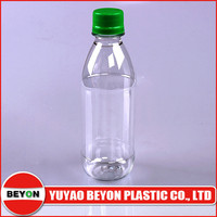 320ml PET plastic mineral water bottle