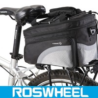 NEW Multi Cycling Bicycle Bike Outdoor Rear Seat Rack Shoulder Sport Bag 14236 motorcycle aluminum pannier bag