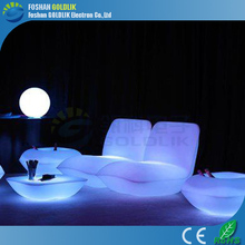 Rental Event Furniture RGB Colorful LED Lounge Furniture