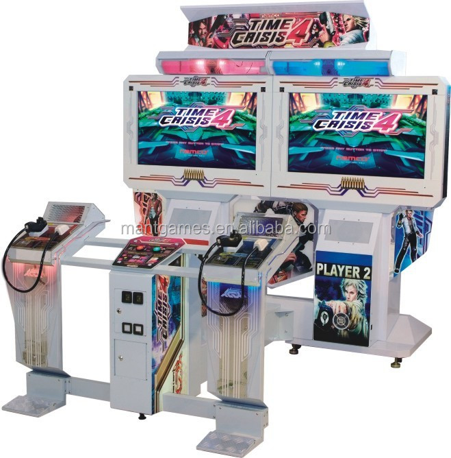 Japan original time crisis 4 attractive real namco video games for arcade shooting machine simulator gun shooting
