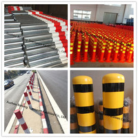 China best high quality factory made road warning post/traffic safety cones