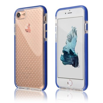 C&T Heavy Duty Shockproof Crystal Clear Ultra Slim Flexible TPU Bumper Protective Case for Apple iPhone 7