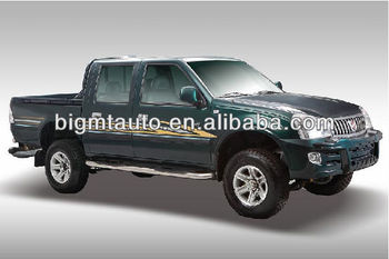 Double Cabin diesel pickup SY1026LC JINBEI Brand for Africa