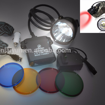 To USA new 10W XML - U2 LED 110000Lx LED KL11LM - 10 hunting lamp hunter light coon hunting light