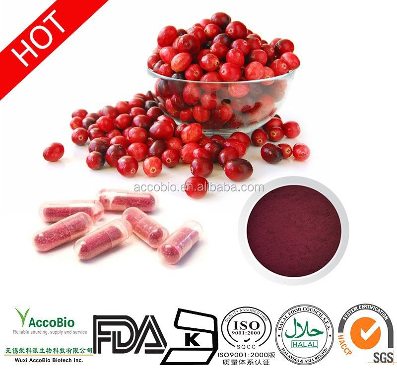 Hot sale! High quality Fruit juice concentrate cranberry extract