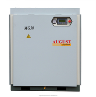 MG30A 30Kw 40Hp 7Bar 0.7 Mpa 102PSIG AUGUST stationary air cooled screw air compressor Best Bargain Offer