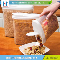 High Quality Pet Cereal Food Storage Container With Lids