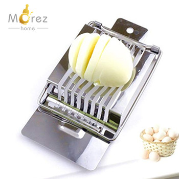 Morezhome hot selling egg cut tool Stainless Steel stainless steel Wire egg slicer