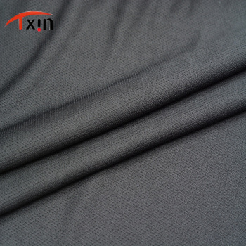 polyester knitted sharp eyes jersey fabric for sportswear and garment